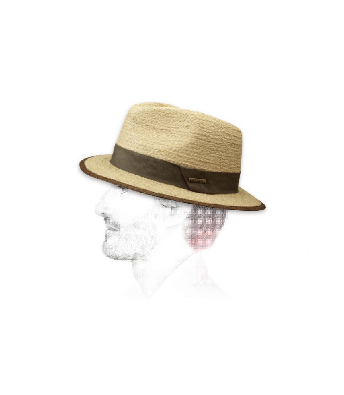 Détails Chapeau Merriam raffia - image 3