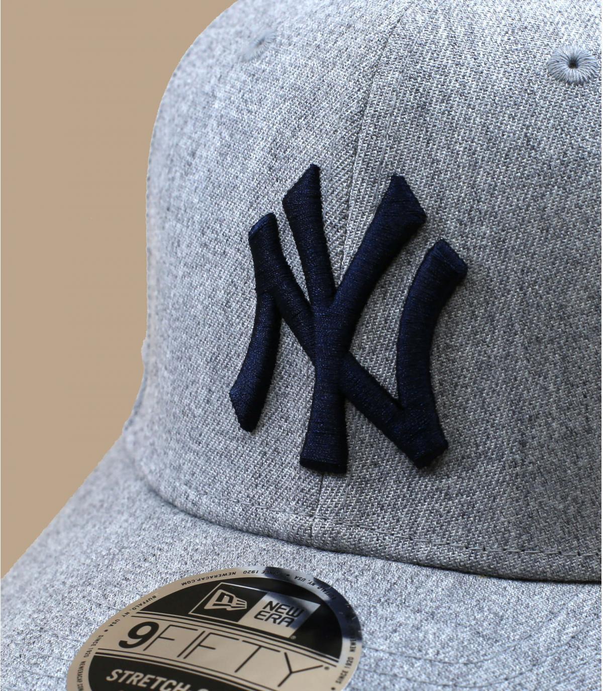 casquette NY gris