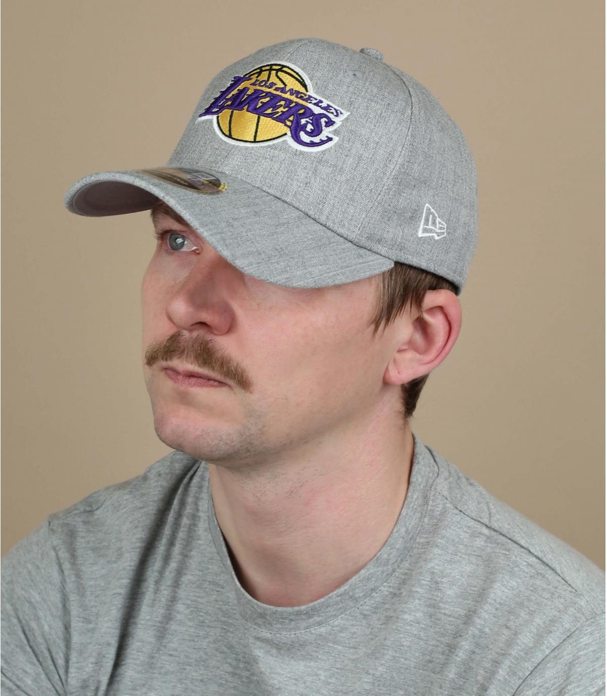 casquette Lakers gris