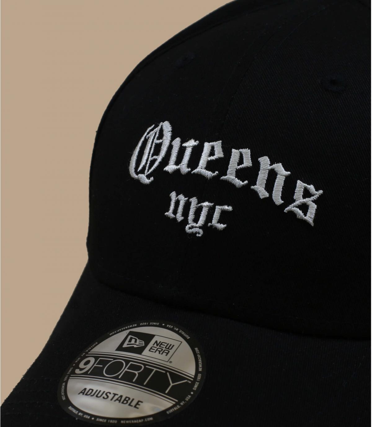 casquette Queens noir