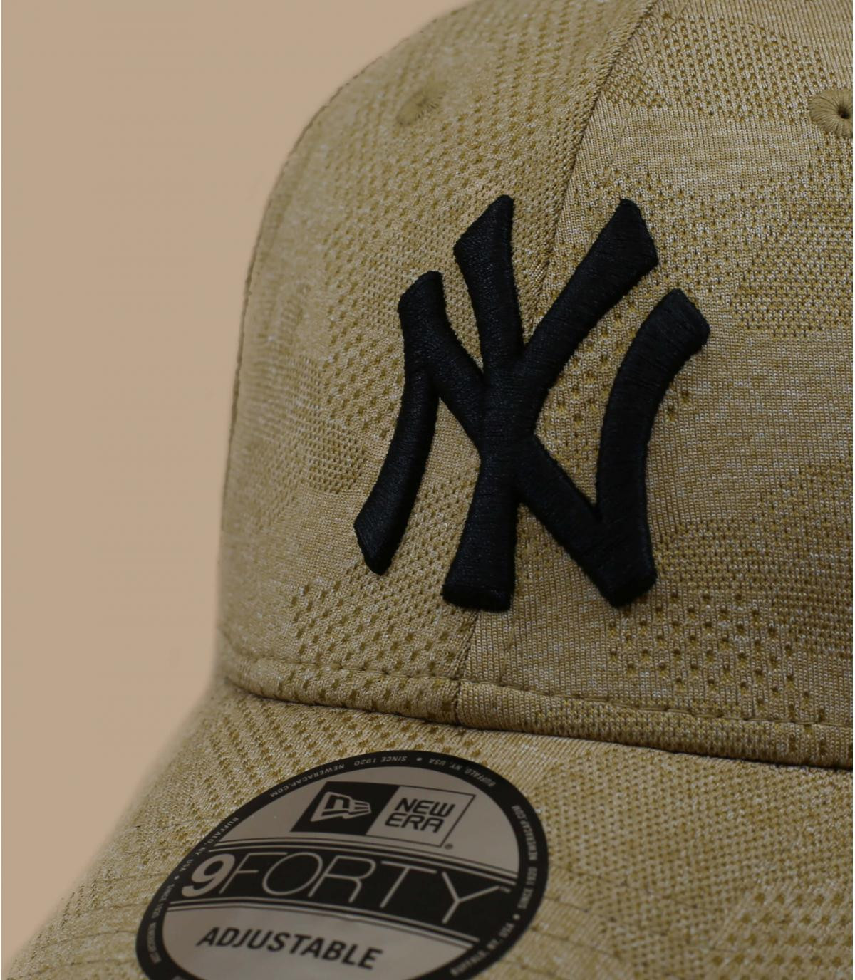 Détails Casquette Engineered Plus 940 NY wheat - image 2