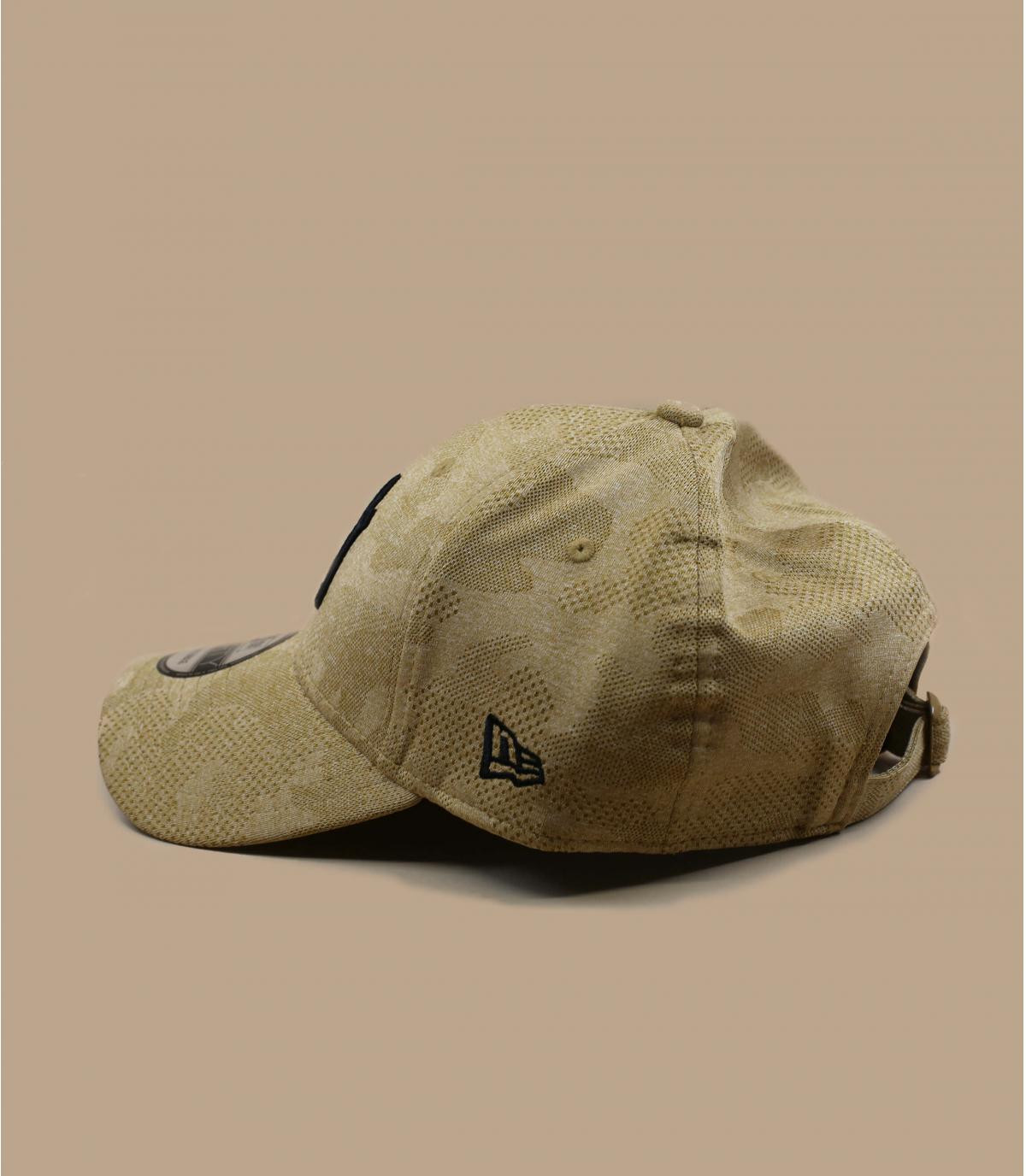 Détails Casquette Engineered Plus 940 NY wheat - image 4