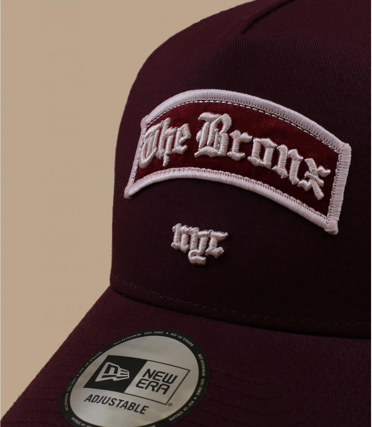 trucker Bronx bordeaux