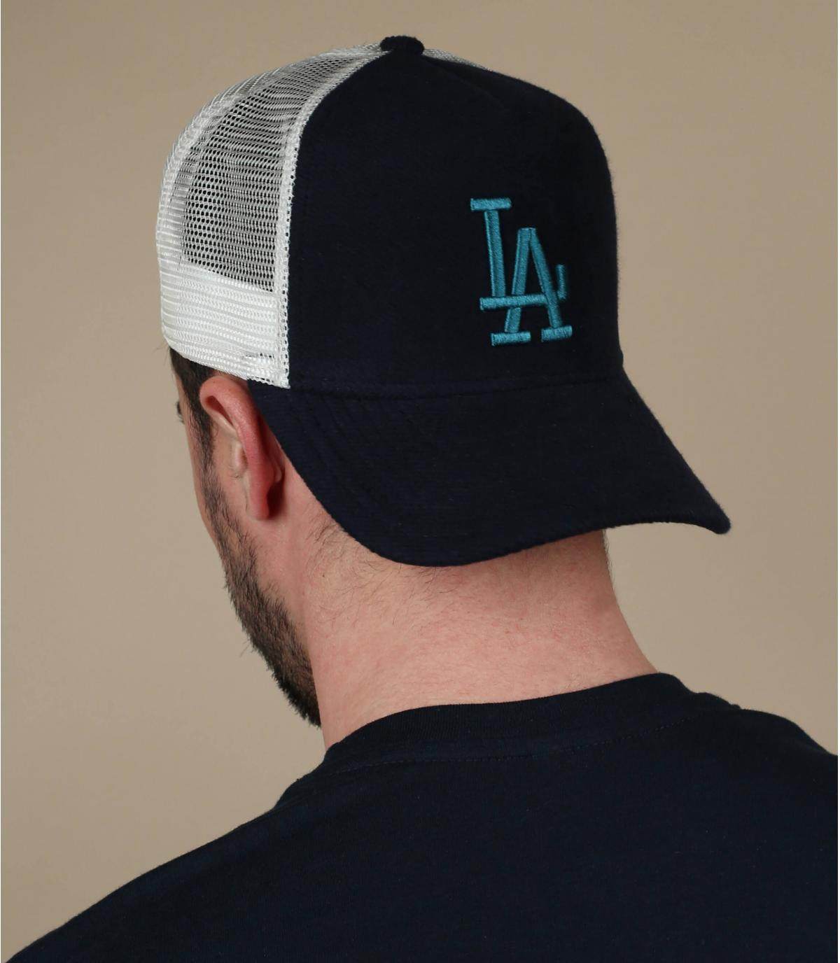 trucker LA bleu