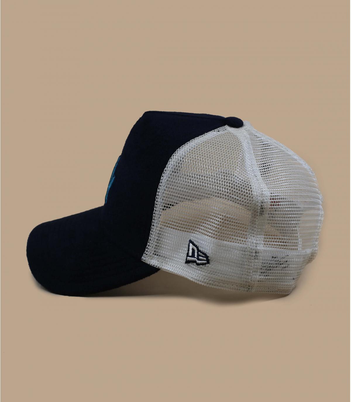 Détails Trucker MLB LA navy cadet blue - image 3