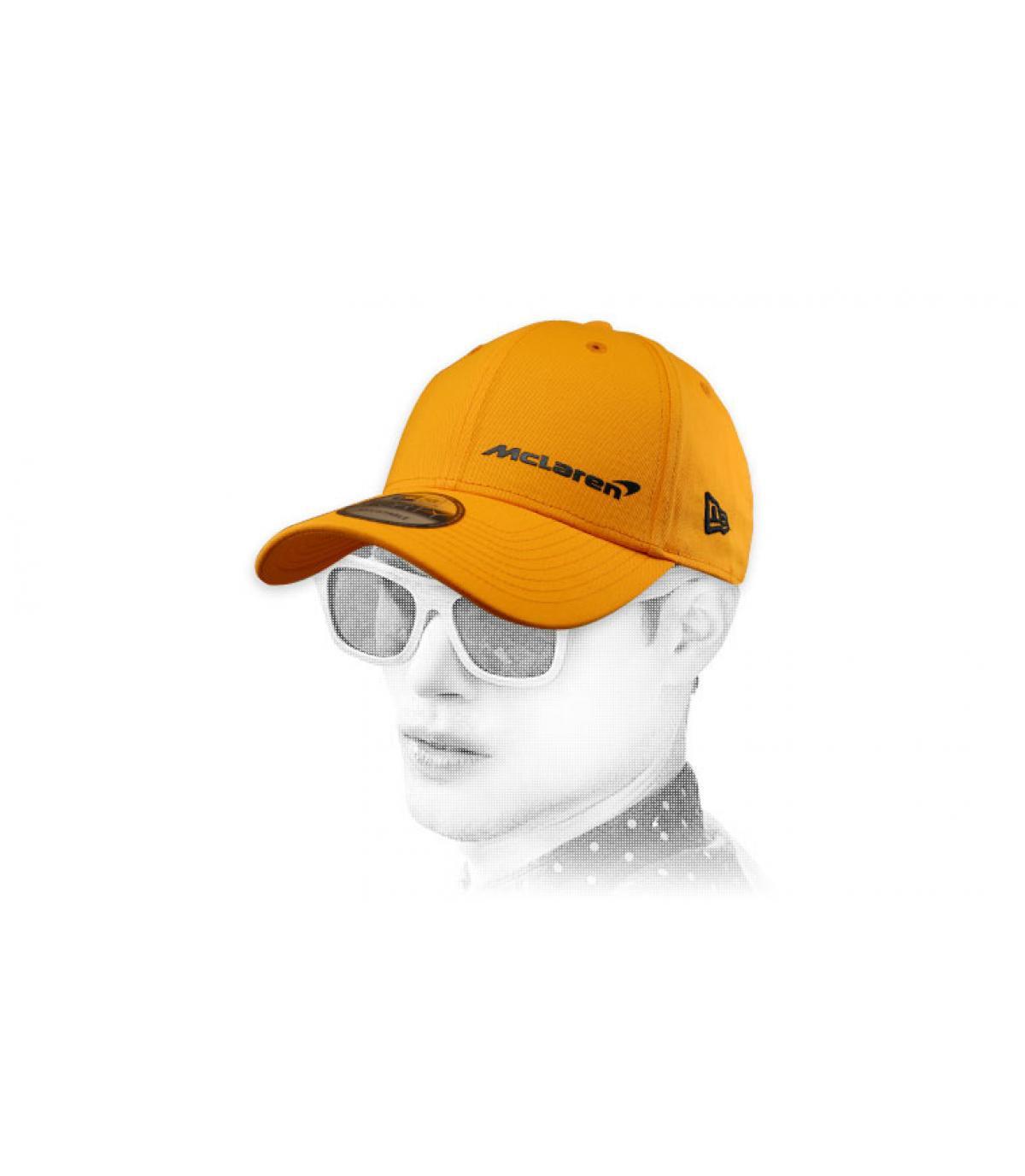 casquette McLaren jaune