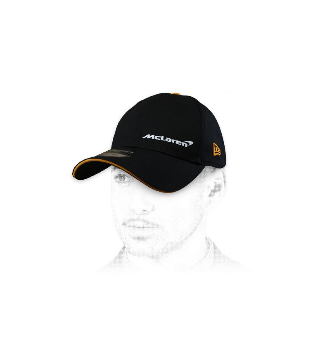 casquette McLaren noir