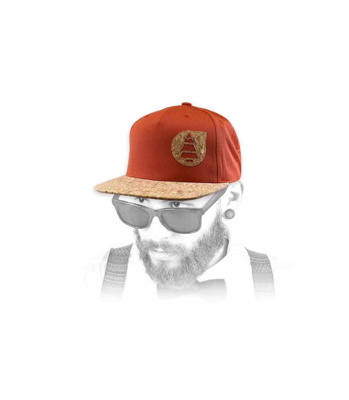 casquette Picture orange liège