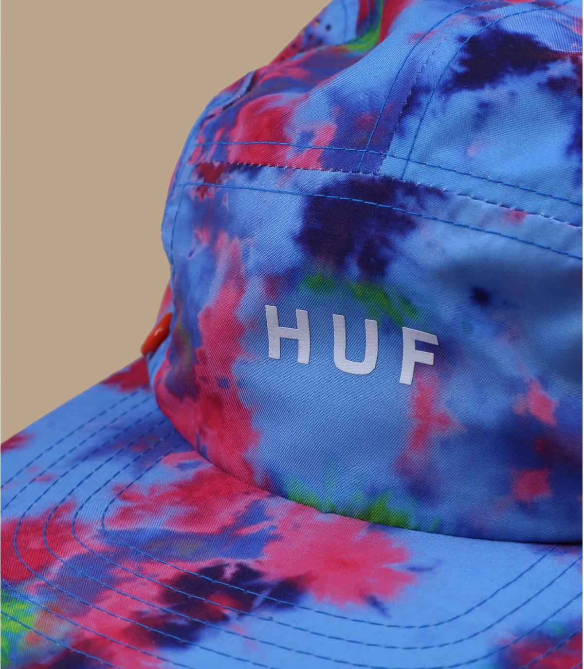 5 panel cache nuque Huf bleu