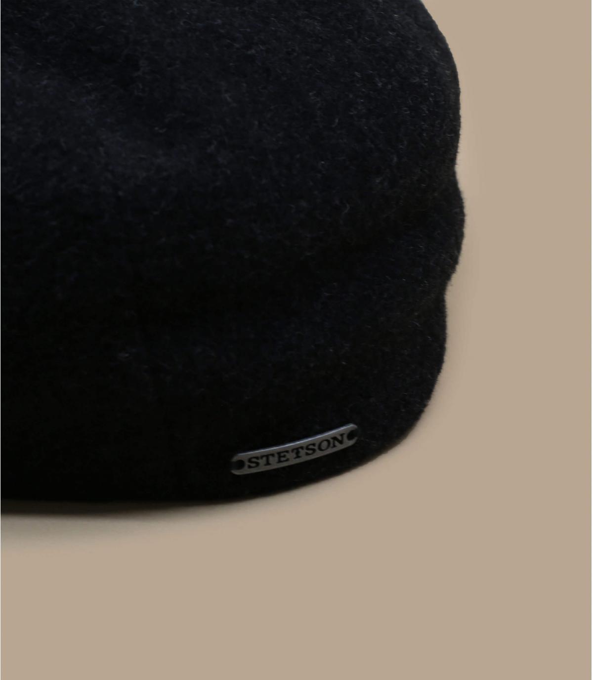 Détails Kent wool Cashmere Earflap grey - image 2