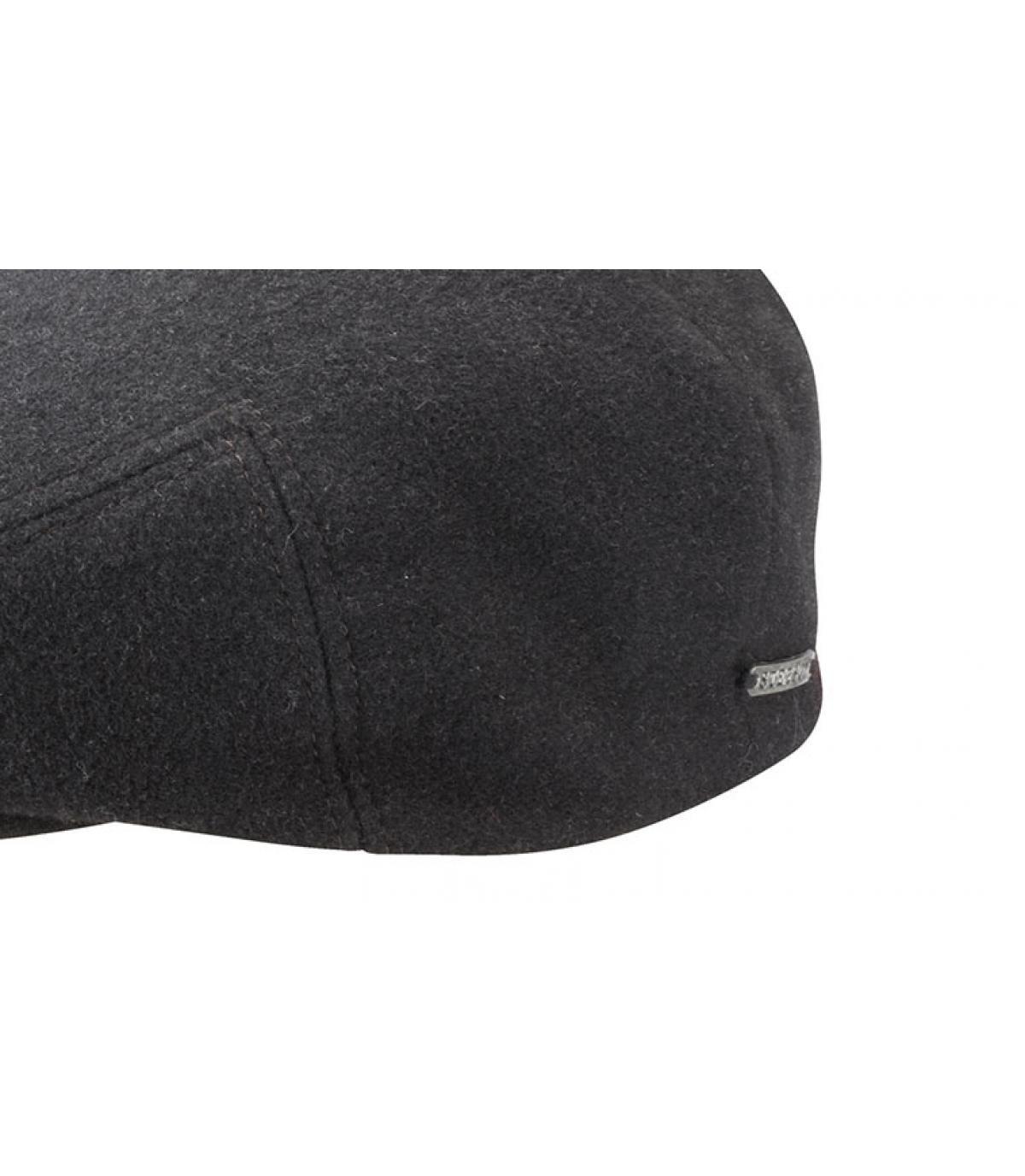 Détails Kent wool Cashmere Earflap grey - image 3