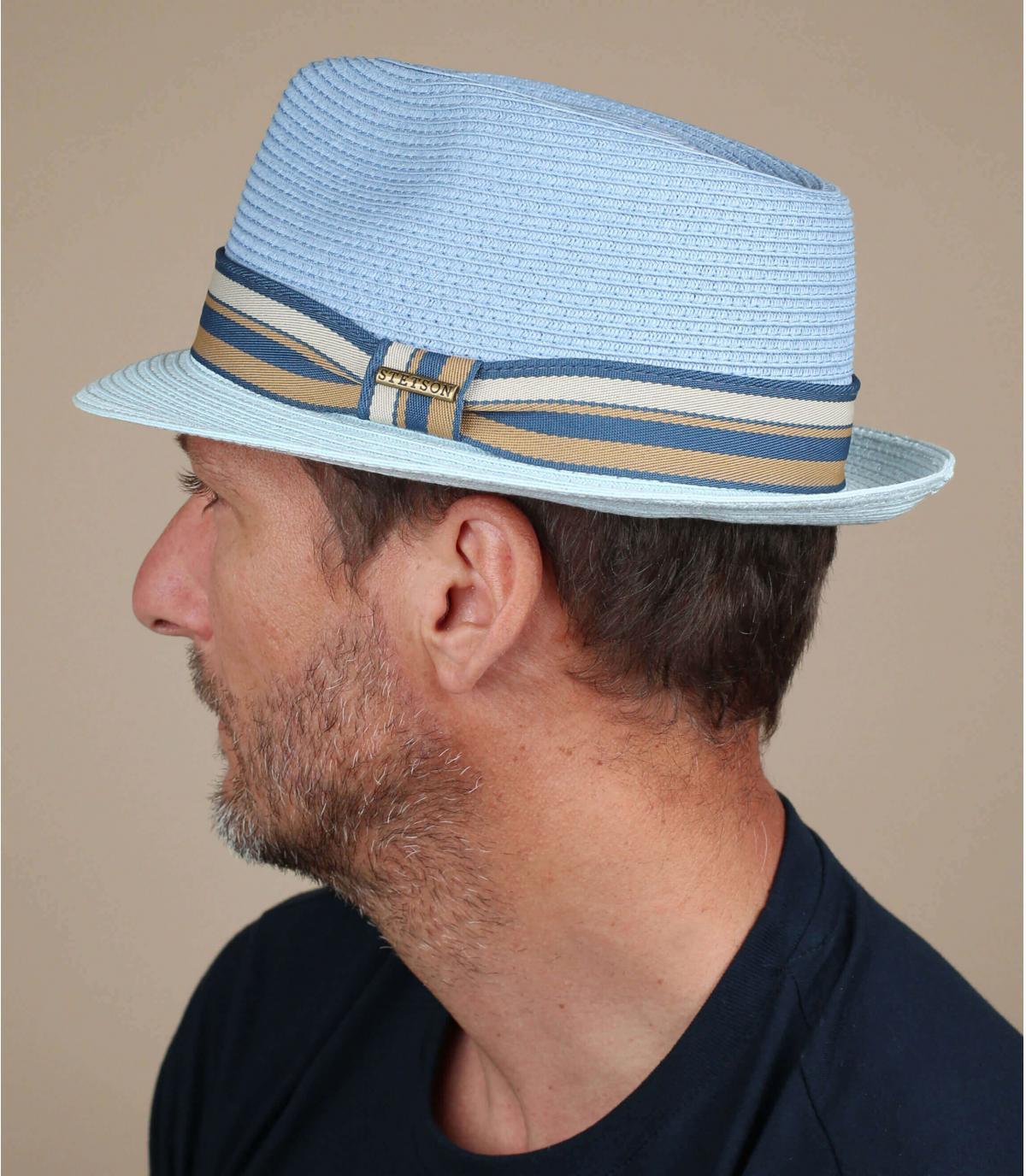 trilby bleu Stetson