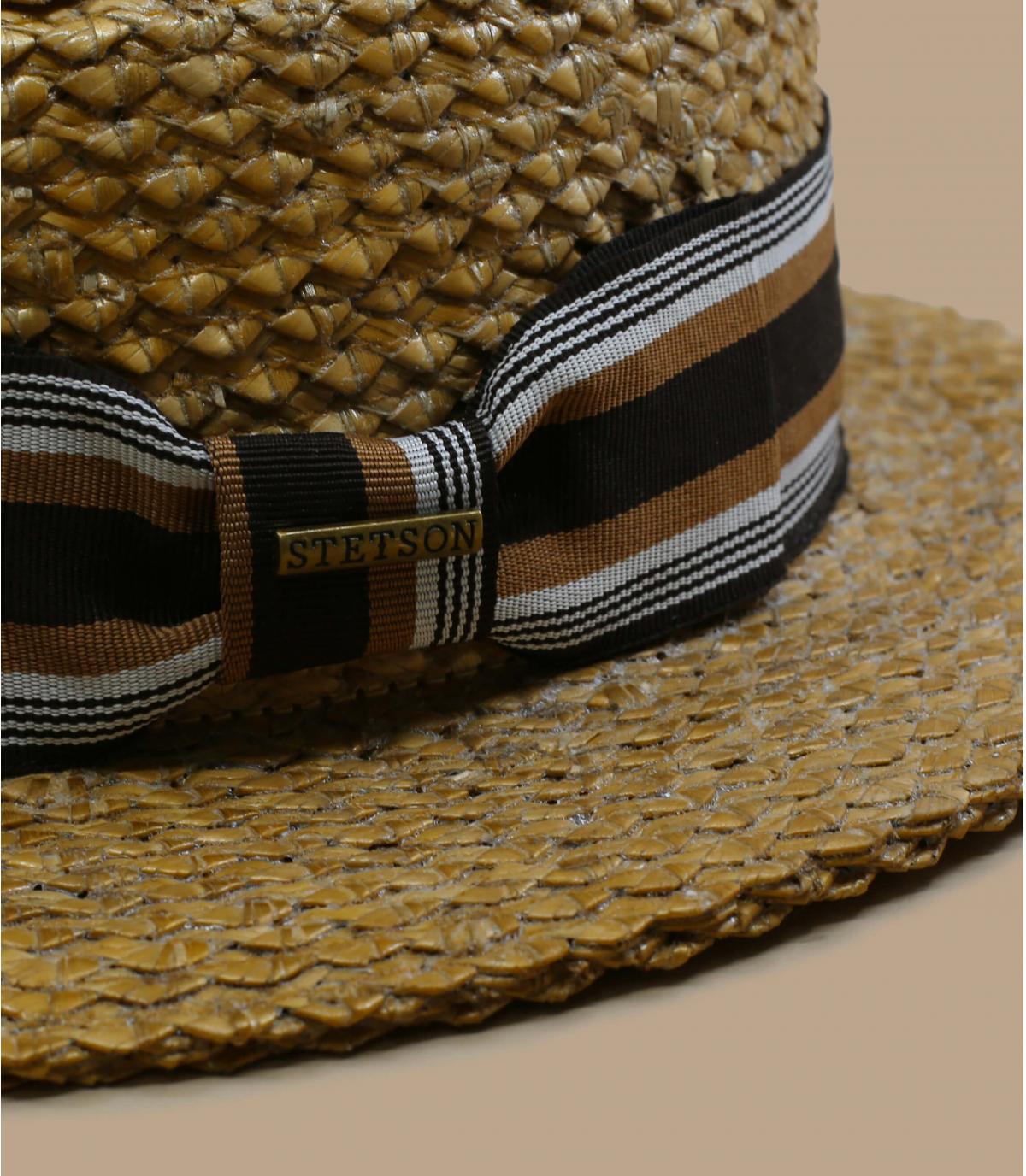 Détails Boater Vintage Wheat - image 2