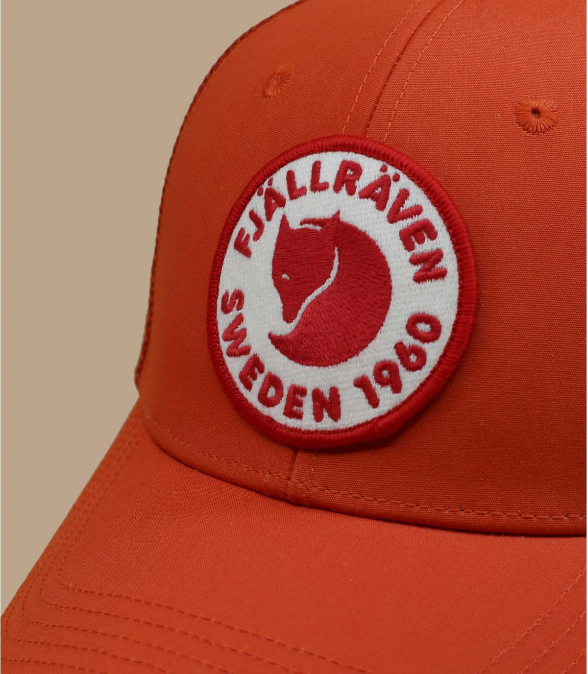 casquette FjällRäven rouge