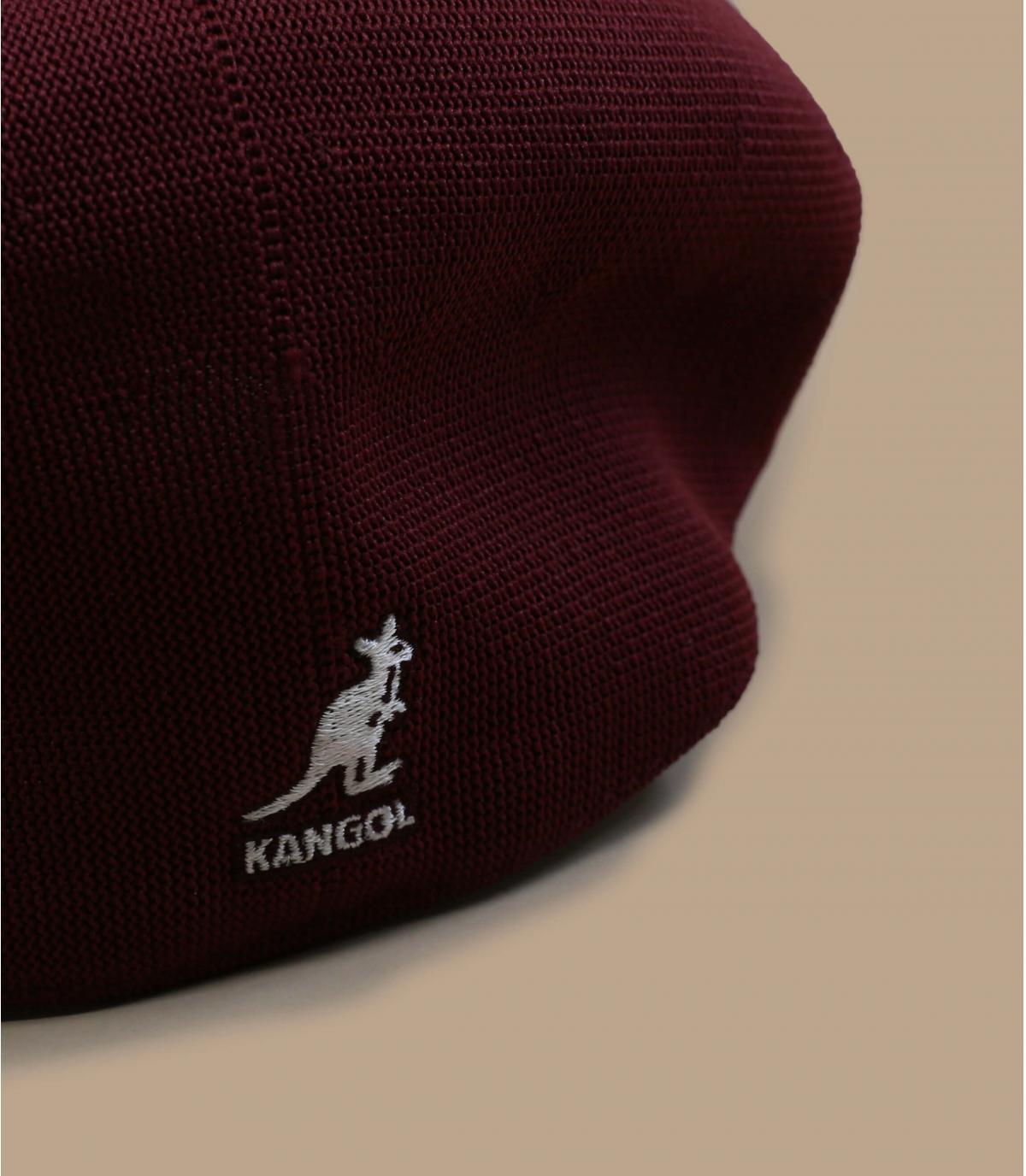 béret bordeaux Kangol