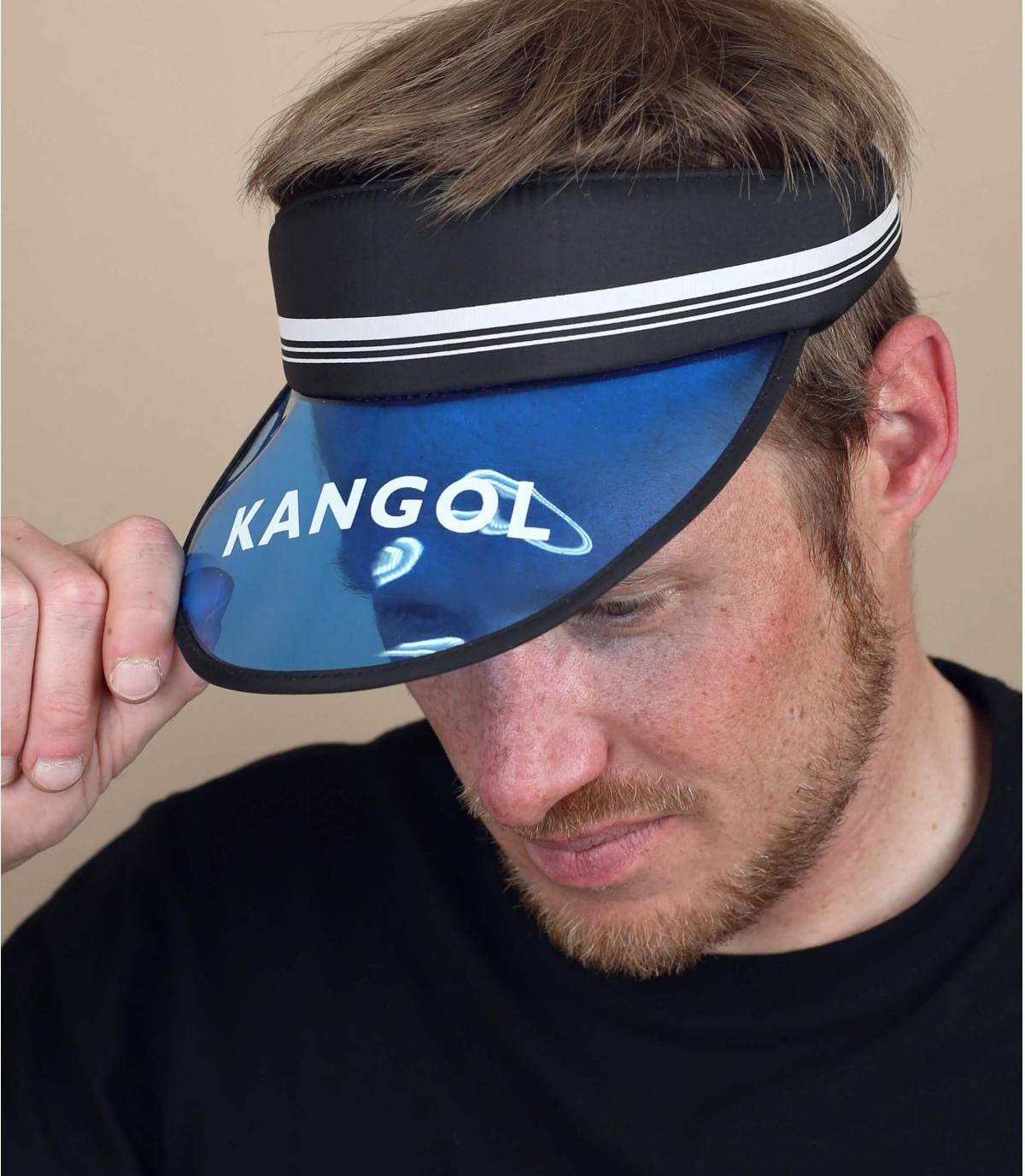 visière Kangol bleu noir