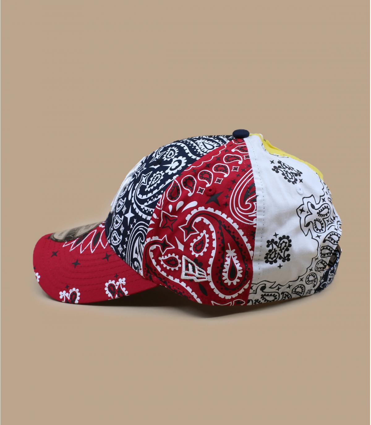 casquette NY bandana multicolore