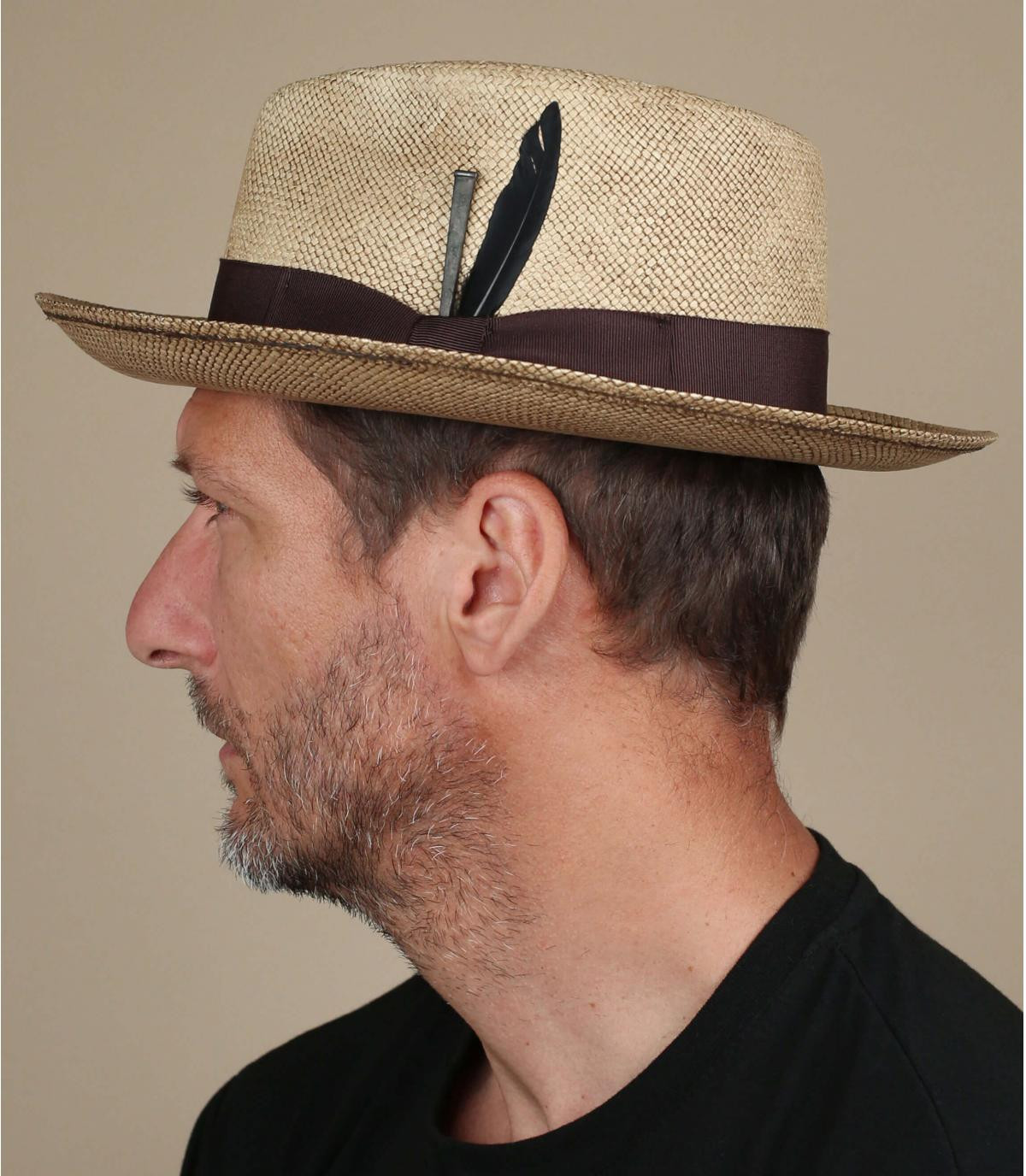 chapeau paille vintage Bailey