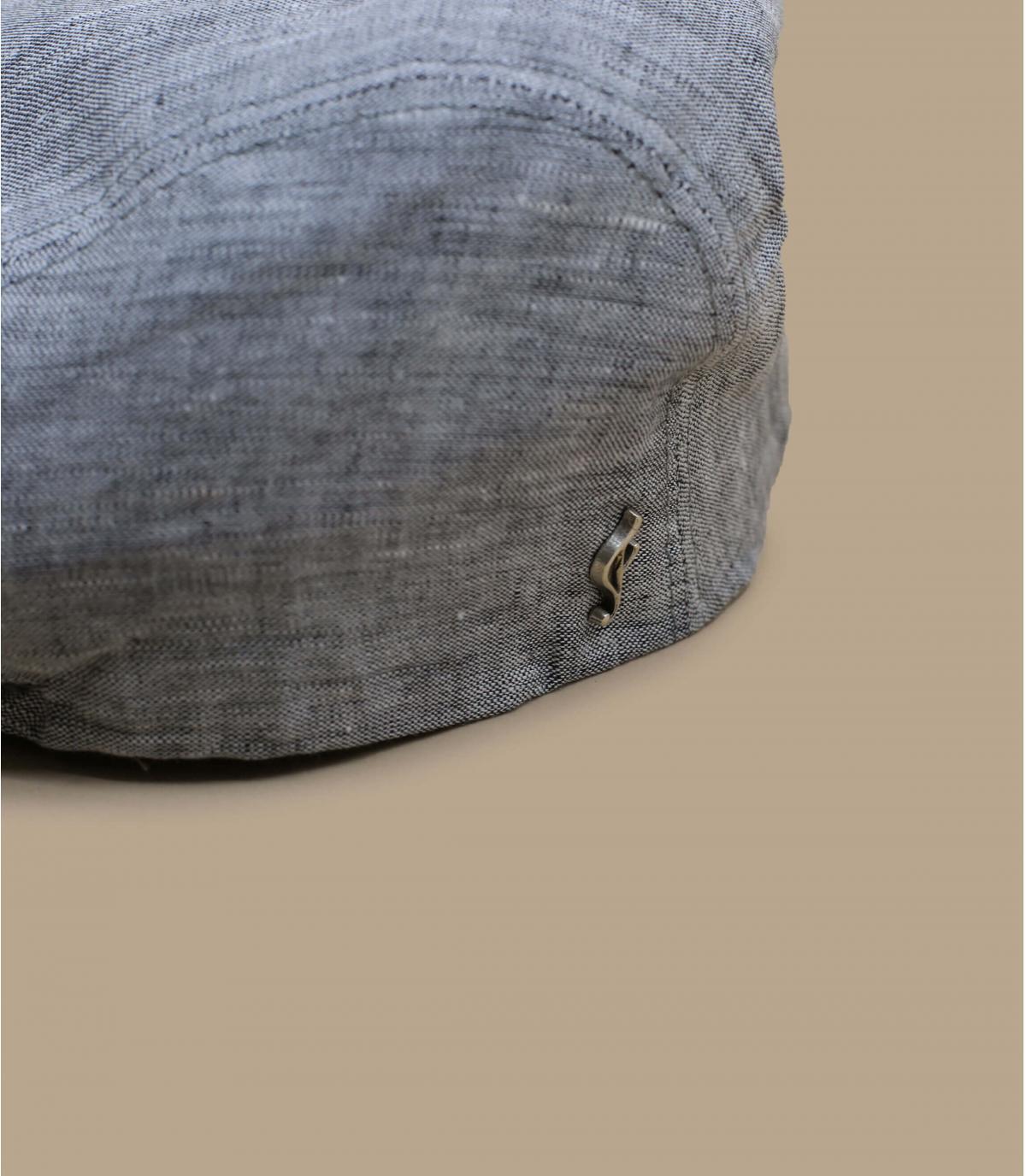 béret gris lin bio