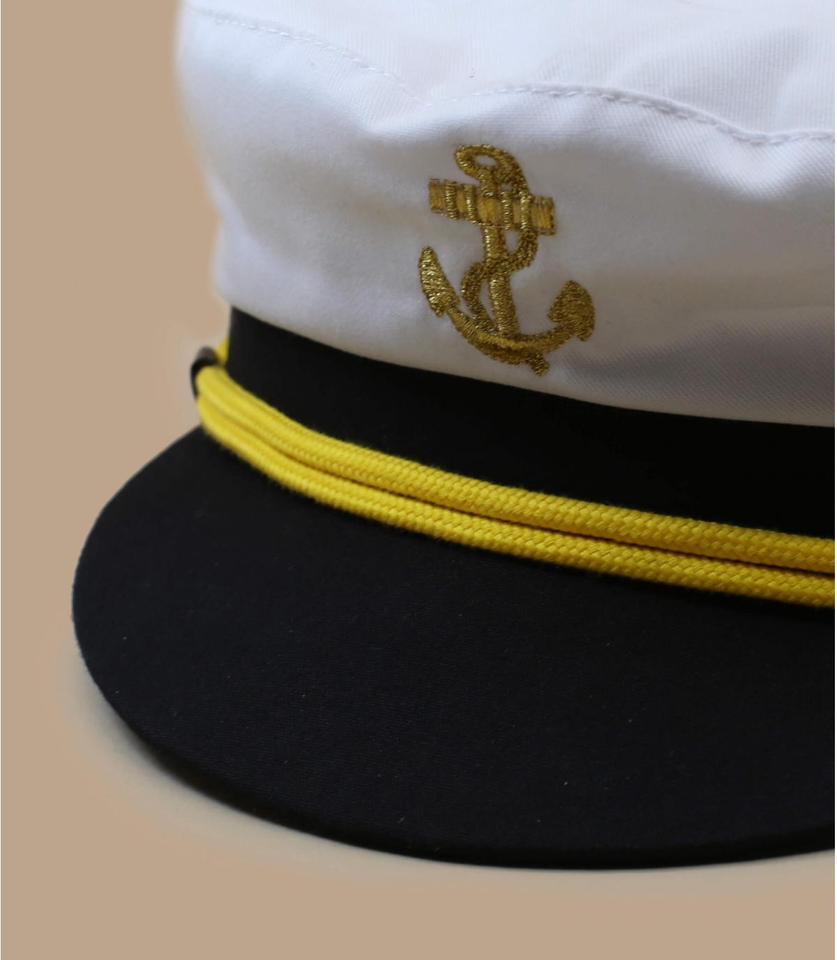 Détails Casquette Capitaine - image 2