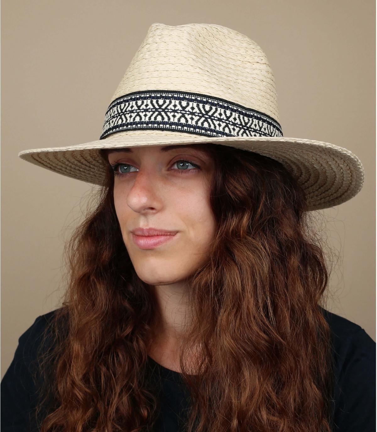 chapeau paille Inca