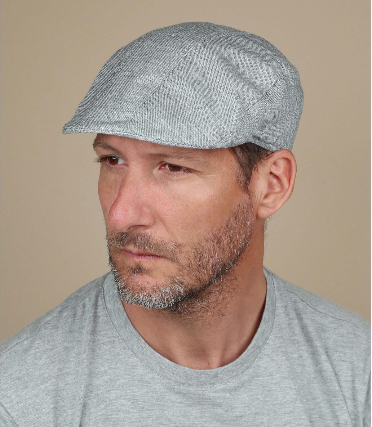 béret coton gris