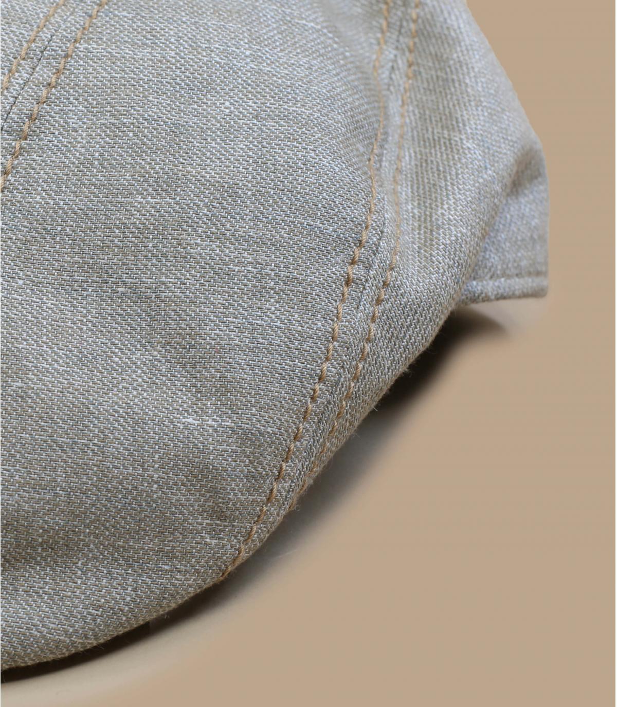béret coton lin beige