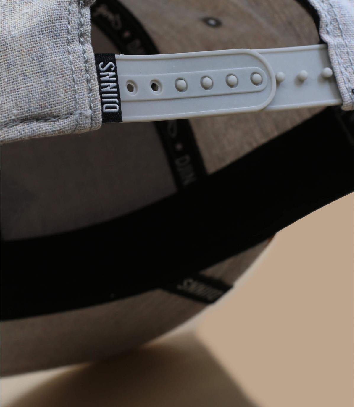 Détails Multimelange Snapback grey - image 4