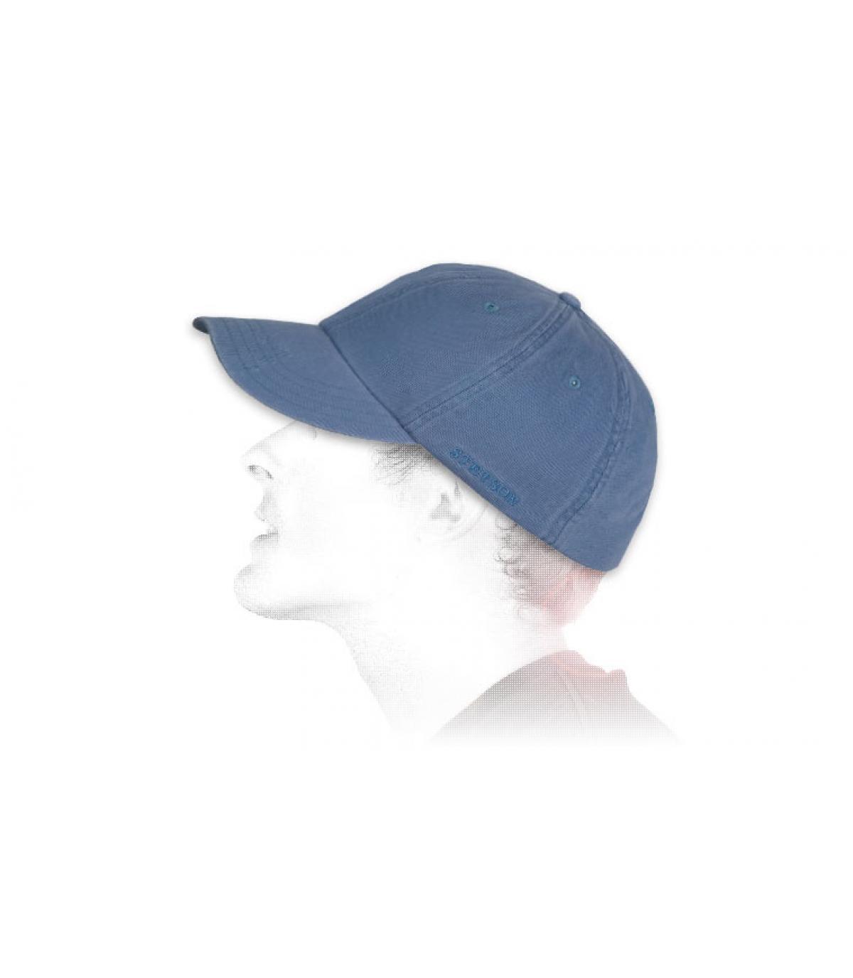 Détails Casquette Rector bleu - image 3