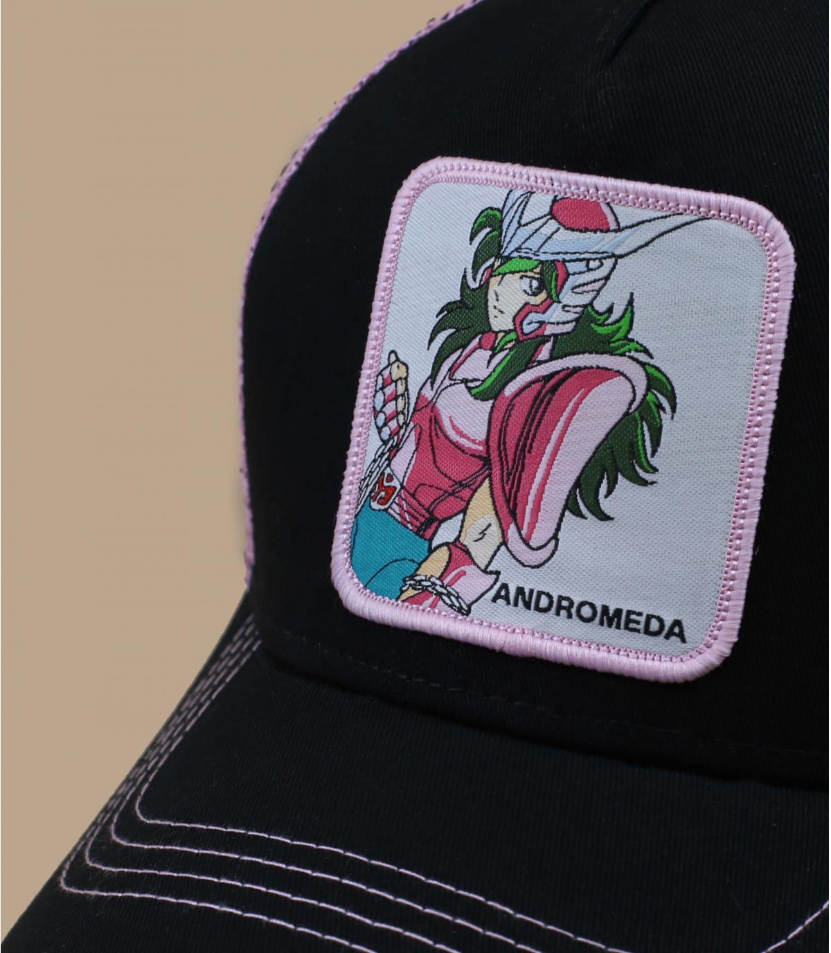 casquette Andromède noir