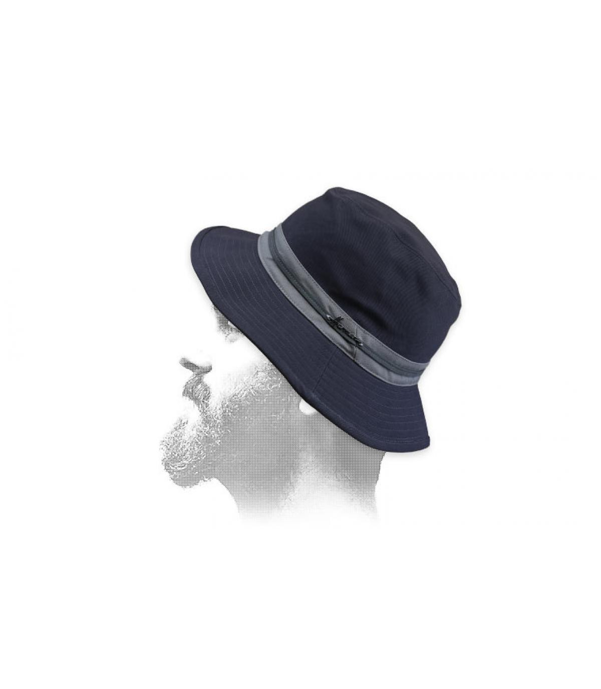 bob coton gris