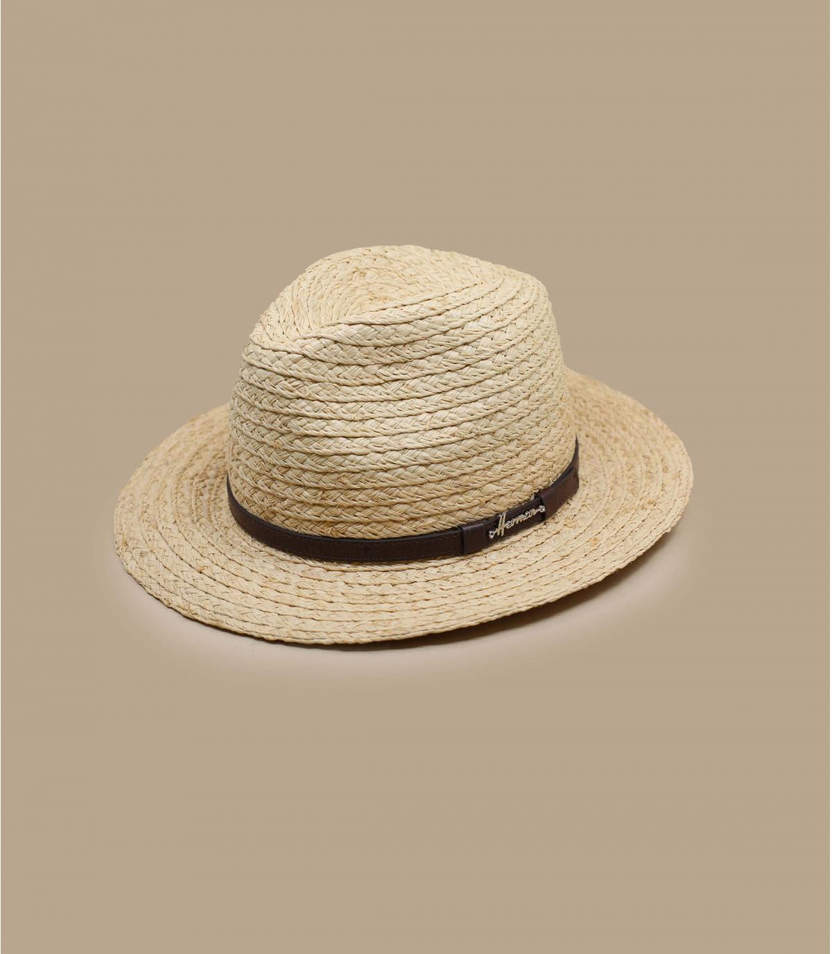 chapeau paille larges bords