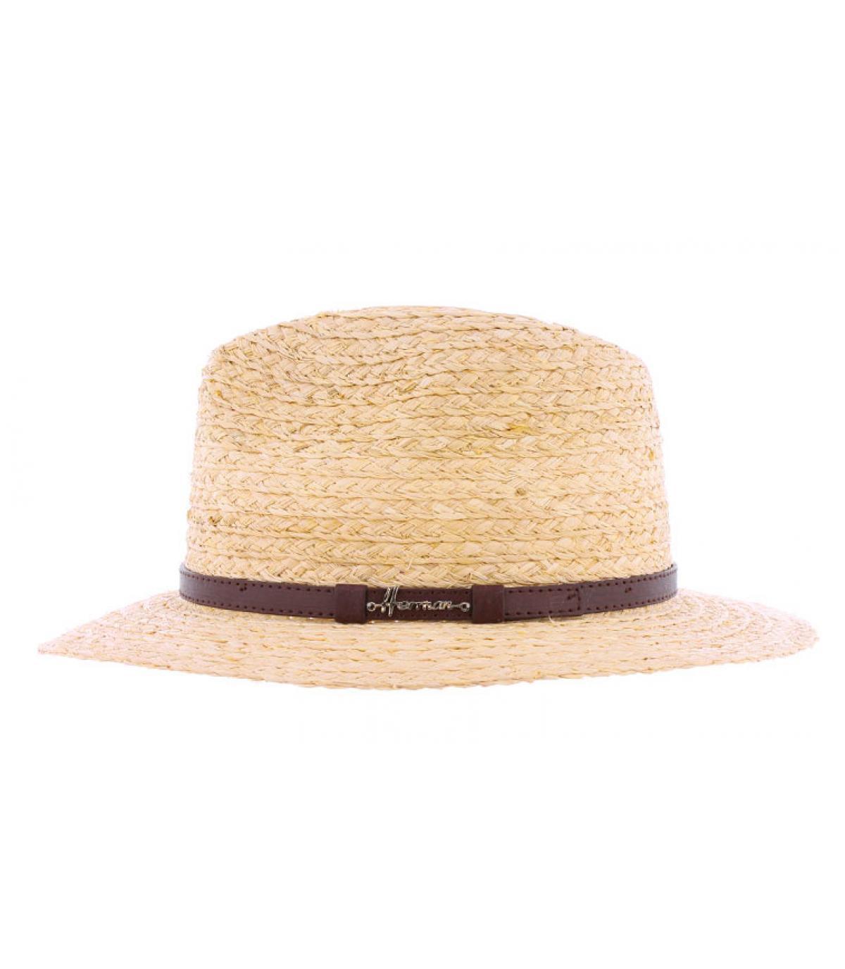 chapeau paille femme larges bords