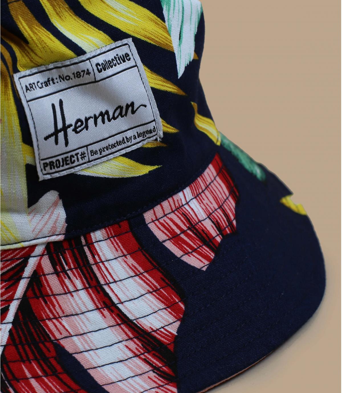 bob imprimé fleurs Herman