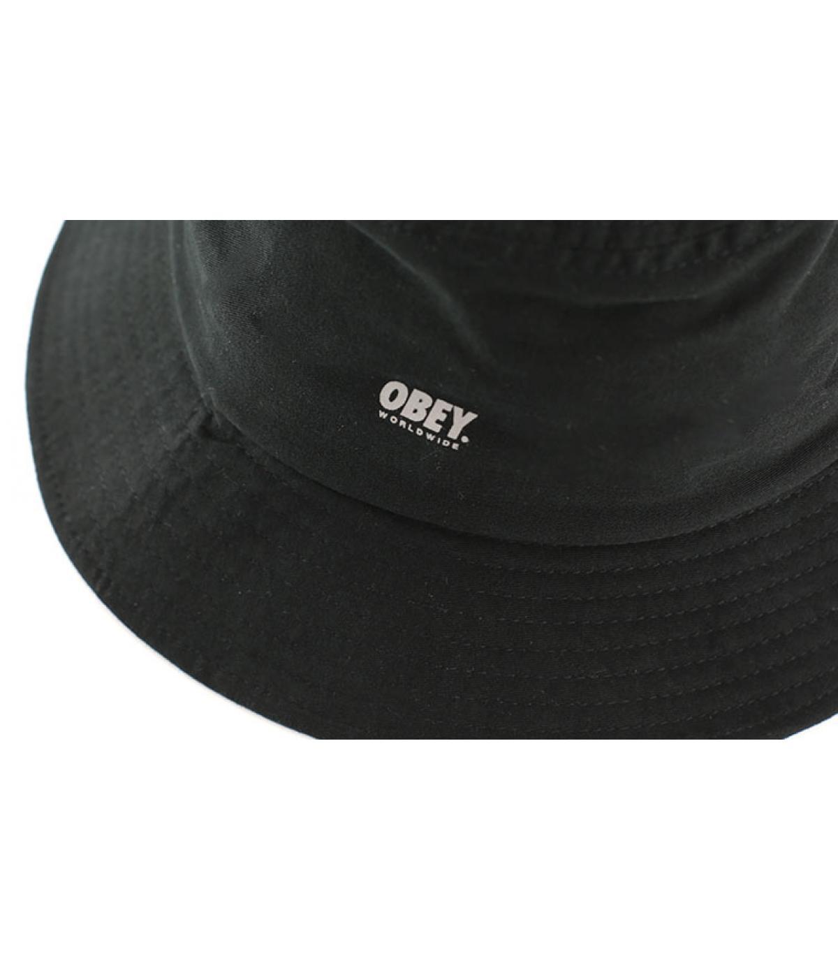 Chapeau bob noir