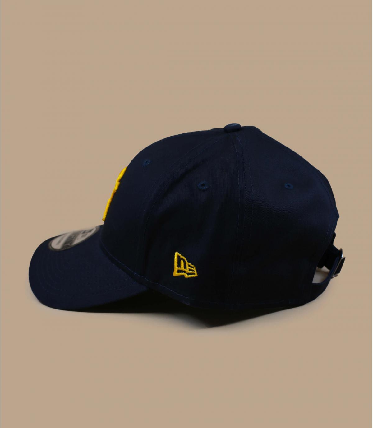 Détails Casquette League Ess 940 NY navy yellow - image 3