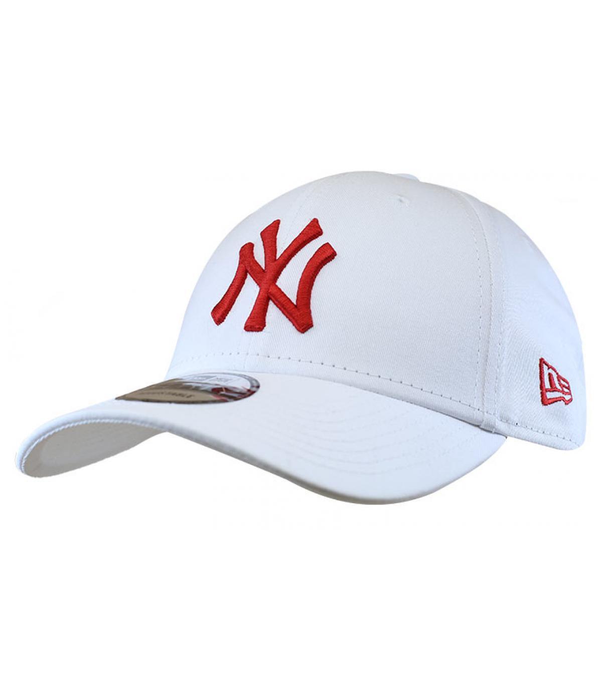 Détails Casquette League Ess 940 NY white red - image 2