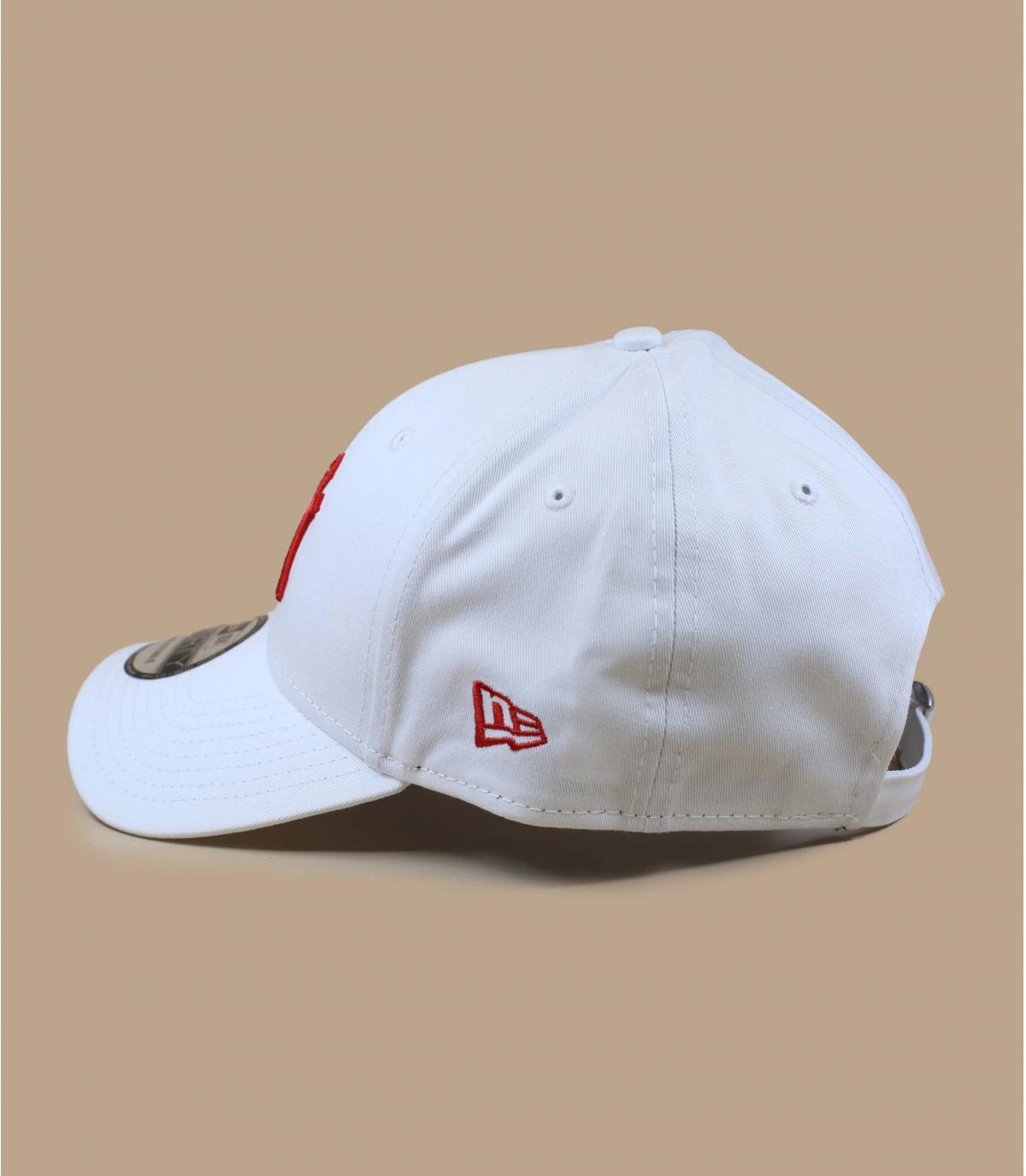 Détails Casquette League Ess 940 NY white red - image 4