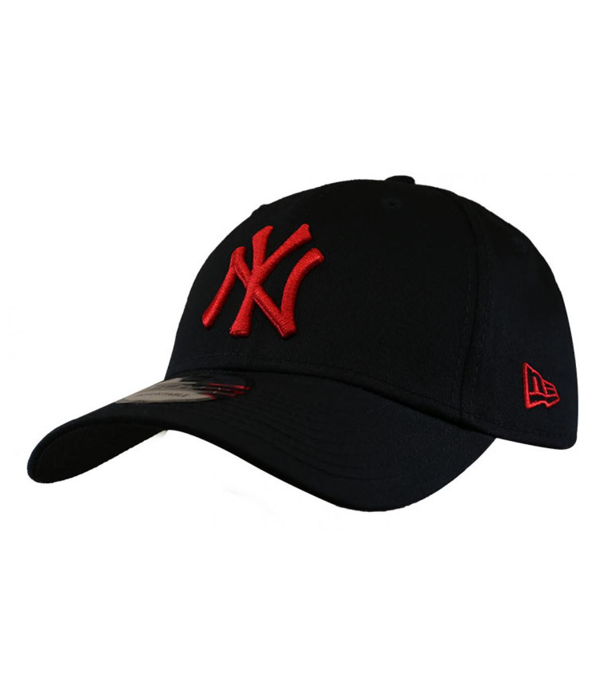 Détails Casquette League Ess 940 NY black red - image 2