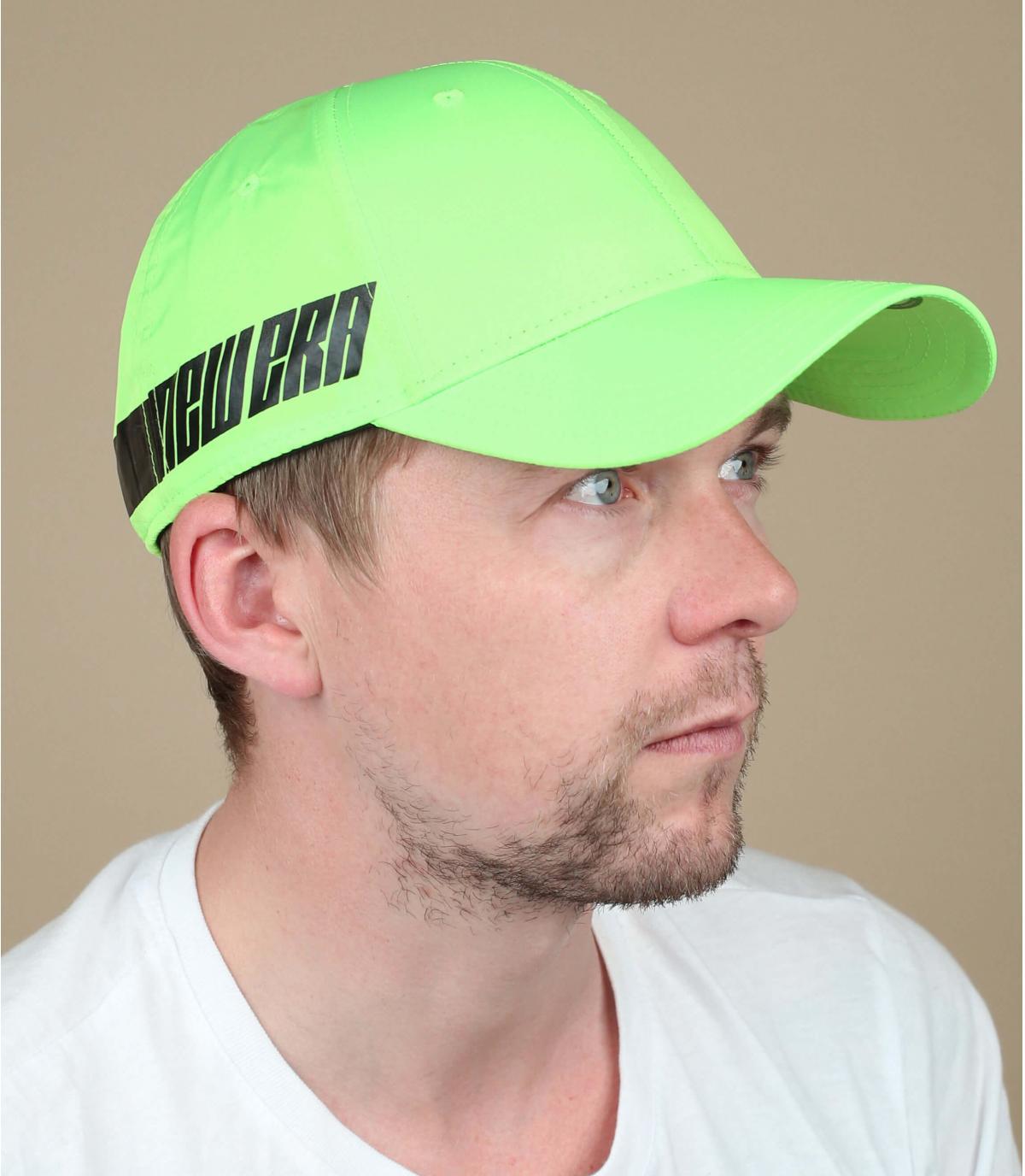 casquette vert fluo New Era