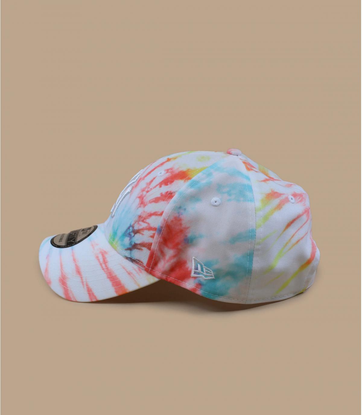 Détails Casquette Tie Dye NY 940 white - image 4