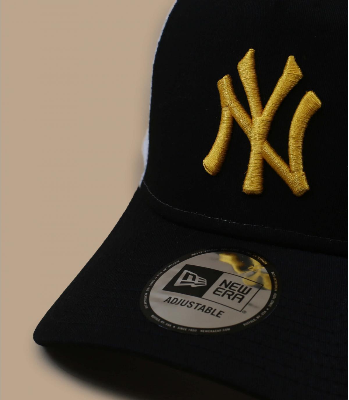 Détails Trucker League Ess NY black yellow - image 3