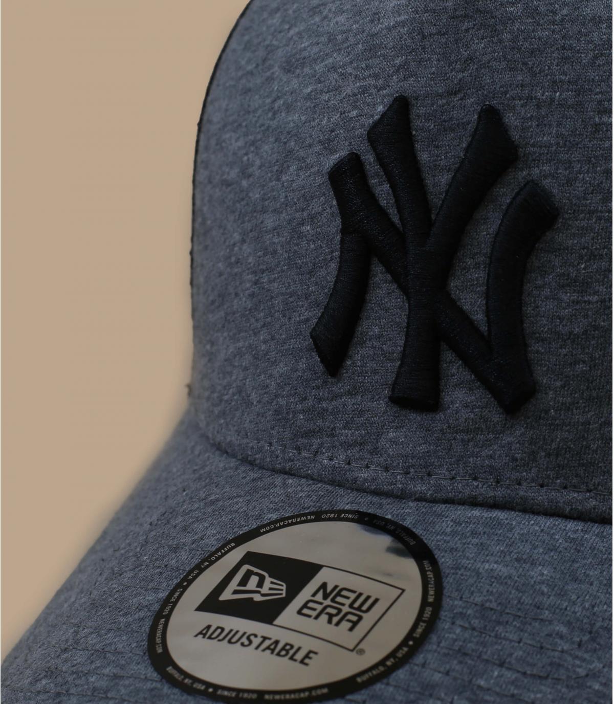 Détails Trucker Jersey Ess NY gray black - image 3