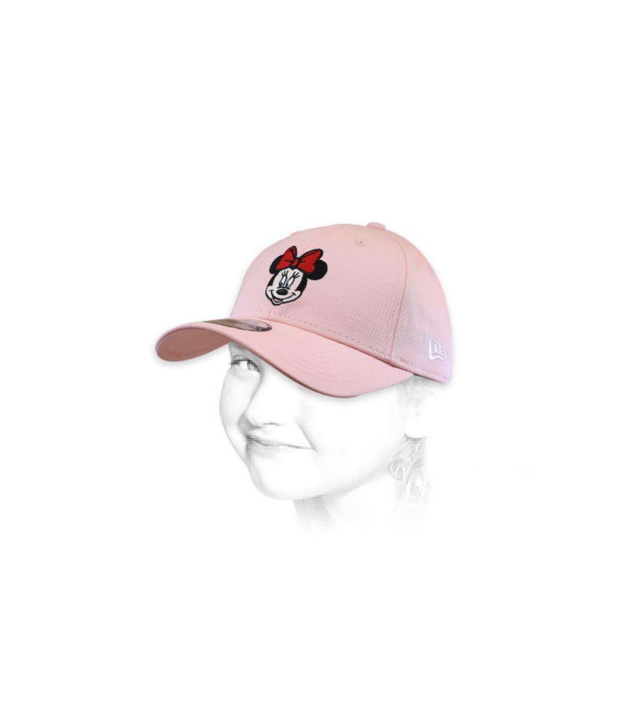 casquette Minnie rose