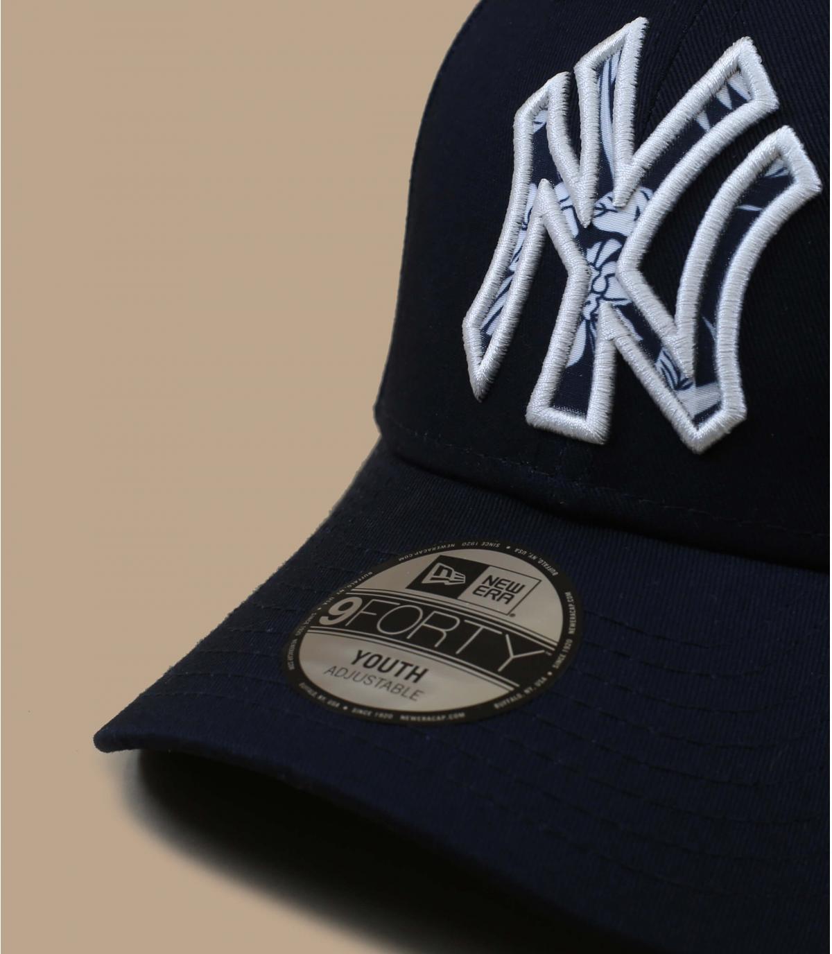 casquette NY bleu