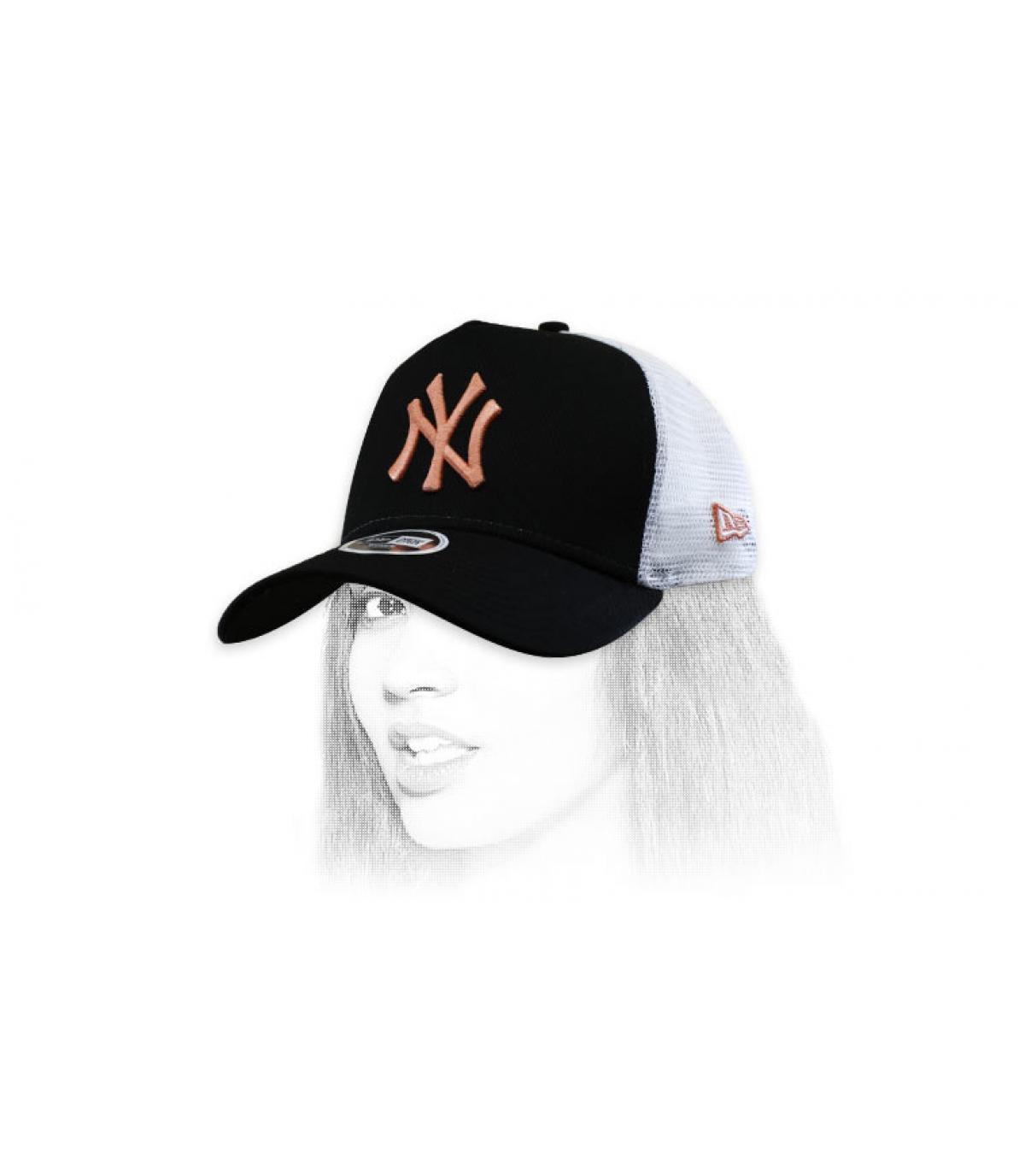 trucker NY femme