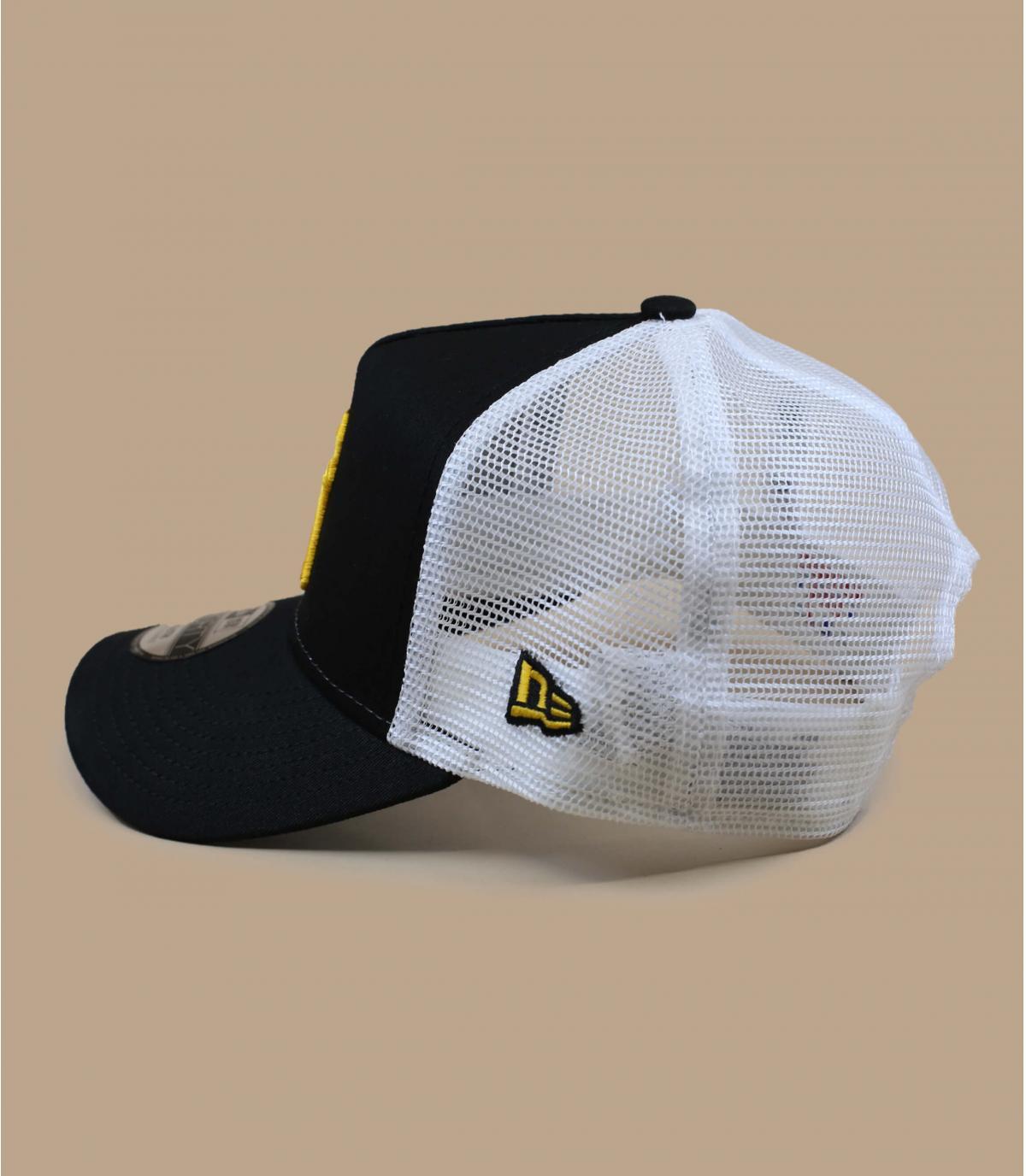 Détails Trucker Kids League Ess NY black yellow - image 2