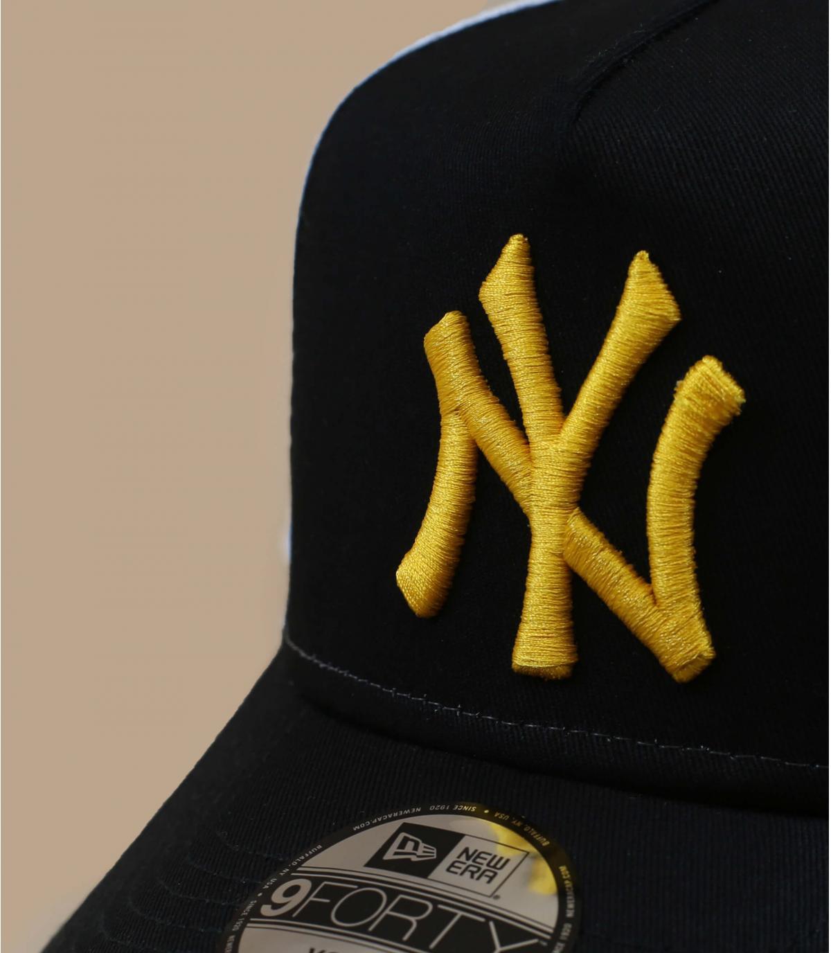Détails Trucker Kids League Ess NY black yellow - image 3