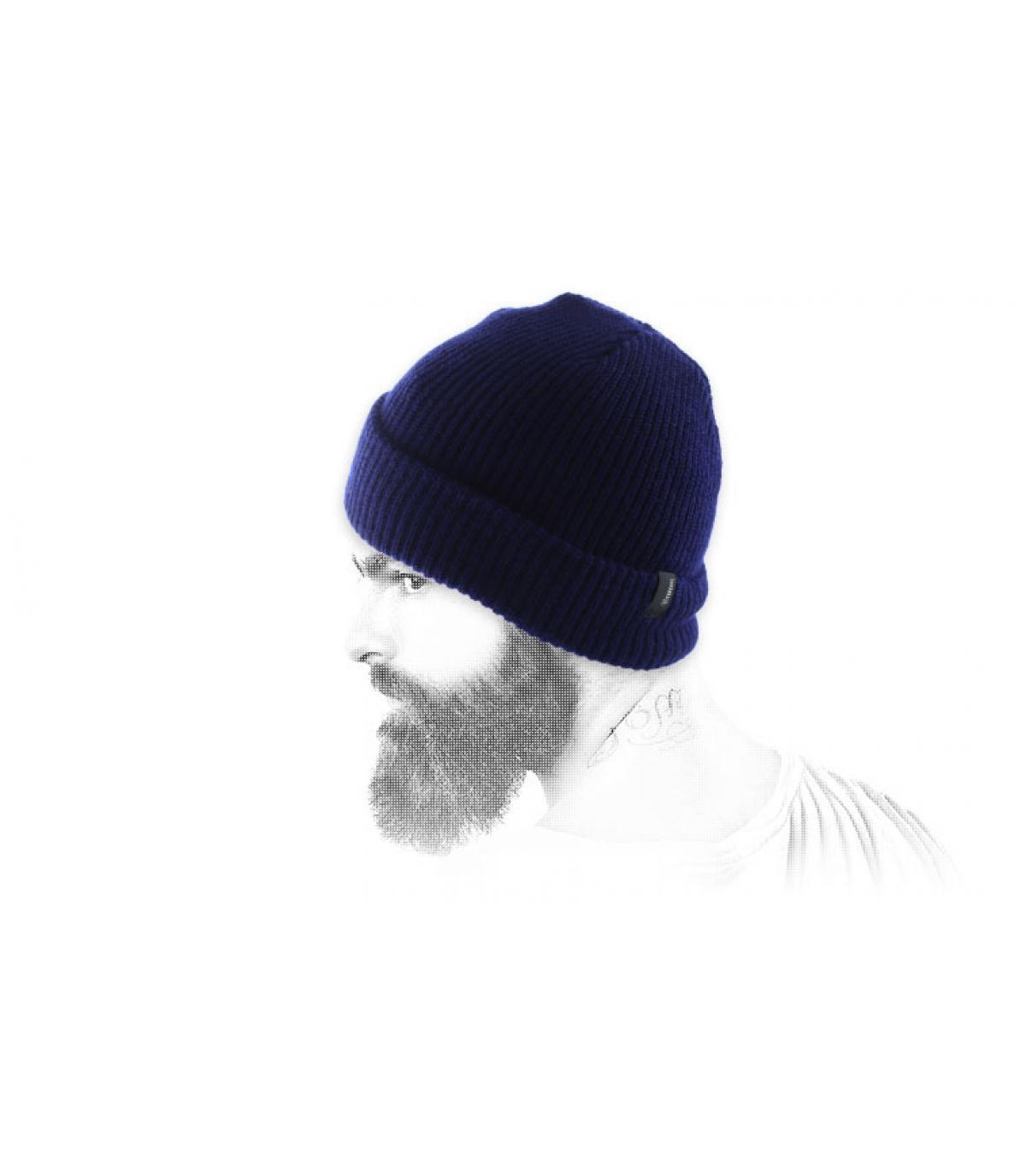 Bonnet Brixton bleu marine
