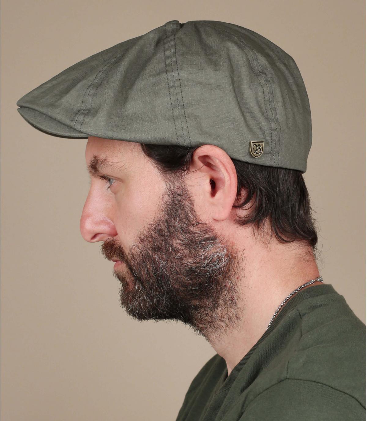 casquette gavroche vert Brixton